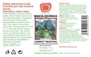 Etiketa produktu Maca-Quinua - Cosmos®Medicinal