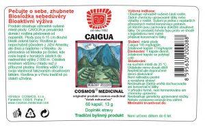 Etiketa produktu Caigua - Cosmos®Medicinal