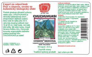 Etiketa produktu Chuchuhuasi - Cosmos®Medicinal