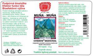 Etiketa produktu Muña - Muña - Cosmos®Medicinal