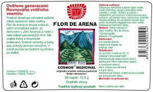 Etiketa produktu Flor de Arena - Cosmos®Medicinal